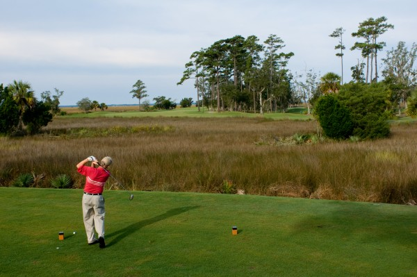Rick Mattox at the King and Prince Golf Course on St. Simons Island, GA