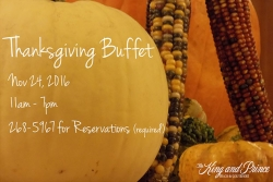 Thanksgiving Buffet at The King and Prince