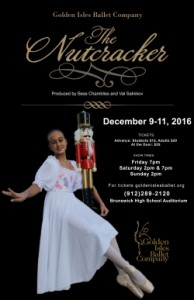 Golden Isles Ballet Company presents The Nutcracker