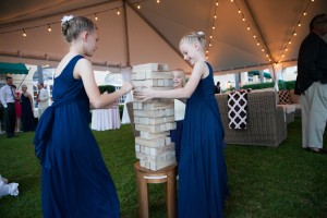 Giant Jenga- photo courtesy Brannon Photography
