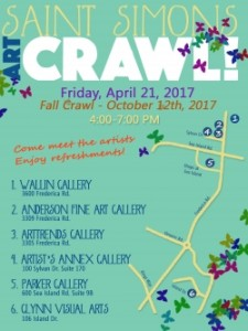 St Simons Art Crawl 2017