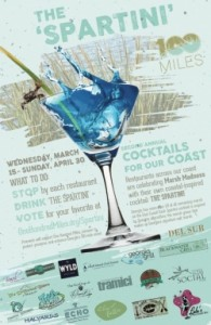 The Spartini Cocktail - Cocktails for our Coast