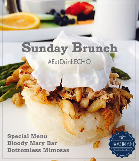 Sunday Brunch at ECHO Restaurant