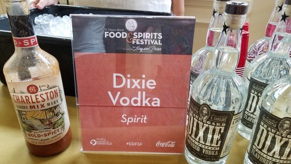 Charleston Mix and Dixie Peppered Vodka