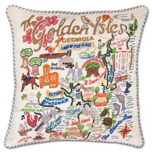 Golden Isles Pillow