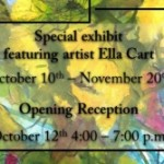 Stems and Petals Art Exhibit