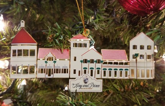 The King and Prince Resort Christmas Ornament