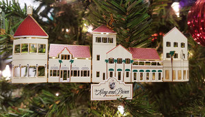 St. Simons Island keepsake Christmas ornaments