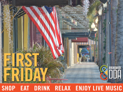 First Friday in Historic Downtown Brunswick