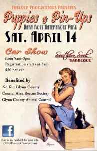 Puppies and Pin-Ups Car Show