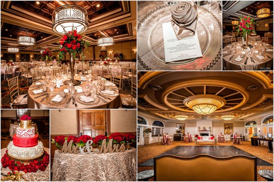 Red Rose Wedding Decorations