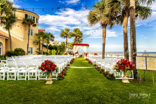 Oceanfront Lawn Wedding
