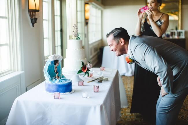 Surfer Groom Cake