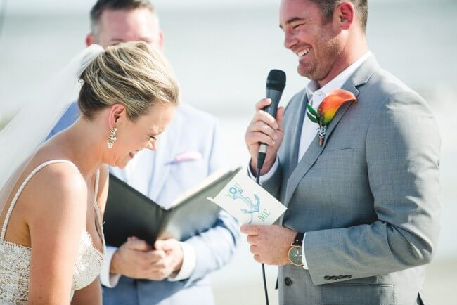 Vows During Ceremony