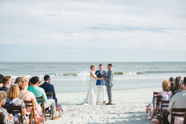 Beachfront Wedding St. Simons Island
