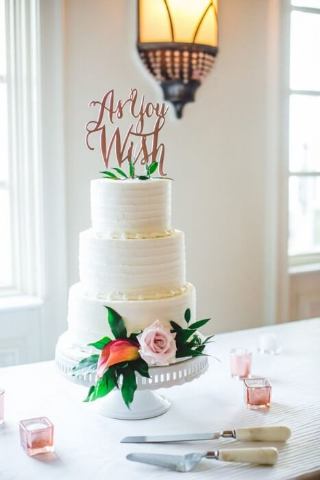 As You Wish Cake Topper