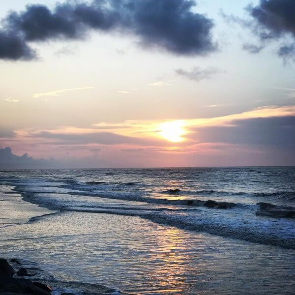 East Coast sunrises in the Golden Isles