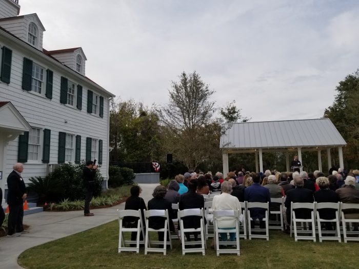 World War II Home Front Museum Opening Ceremonies