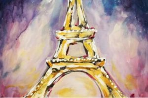 Get Your Muse On Eiffel Tower Paint Party