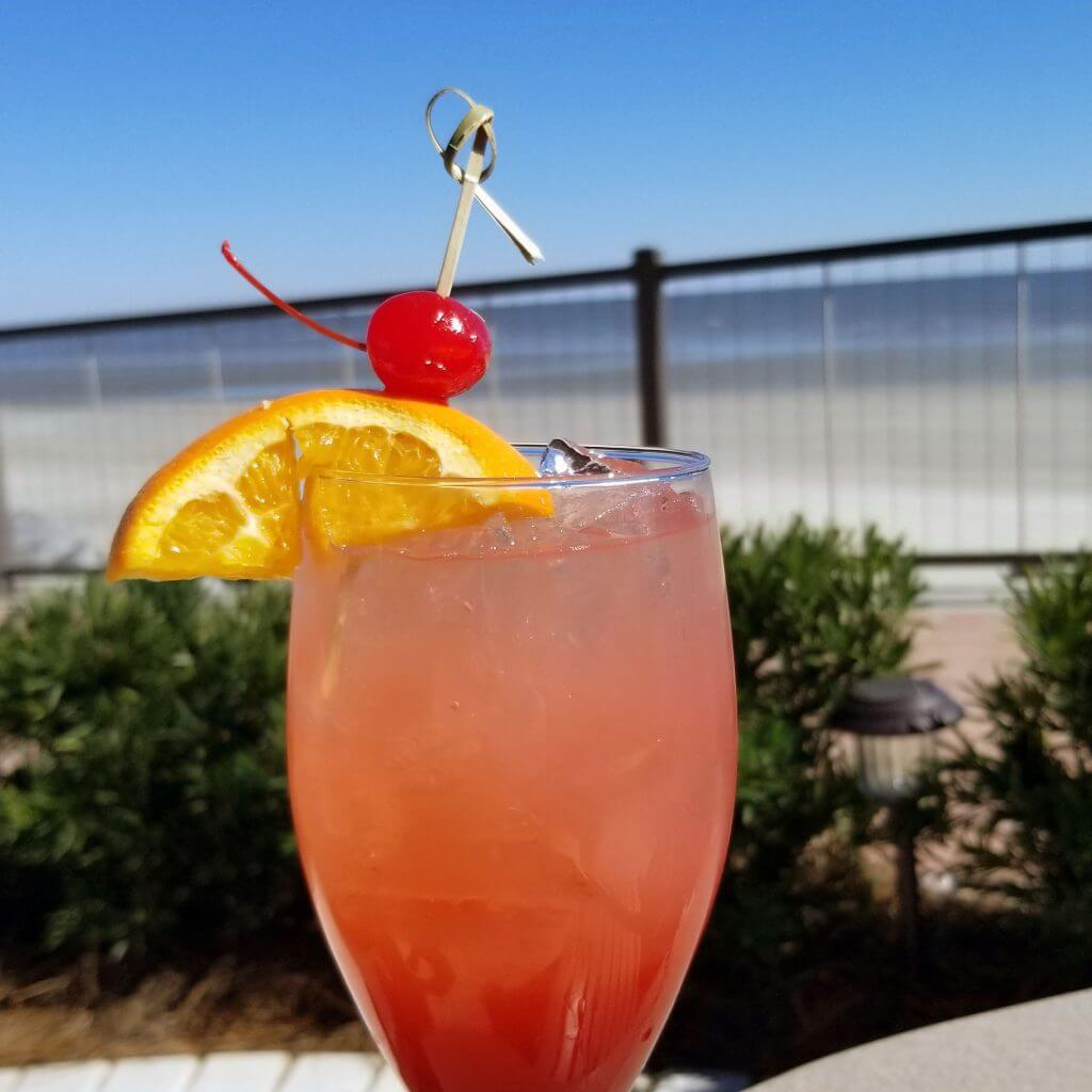 Cocktail on the Beach at St. Simons Island