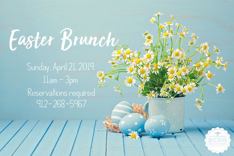 Easter Sunday Brunch at ECHO St. Simons