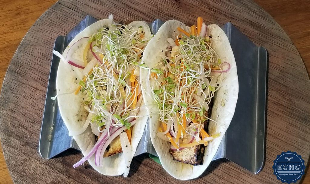 Grilled Tofu Tacos at ECHO St. Simons