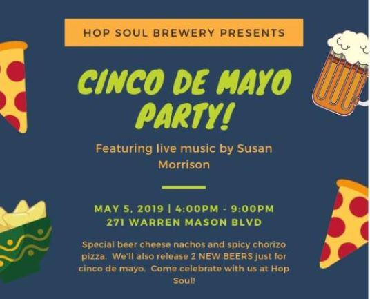 Cinco De Mayo Party at the Hop Soul in Brunswick
