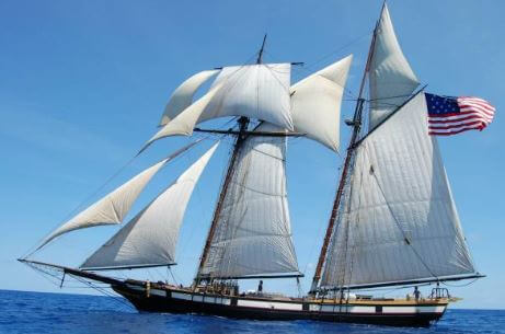 Privateer Lynx Tall Ship coming to Brunswick, Georgia