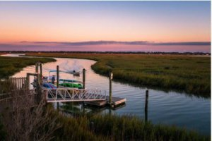 Village Creek Landing on St. Simons Island