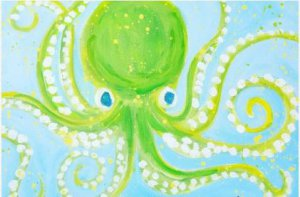 Octopus Paint Party