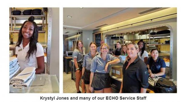 ECHO Restaurant Service Staff