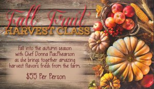Fall Fruit Cooking Class St. Simons Island