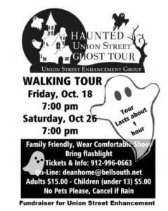 Haunted Union Street Ghost Tour
