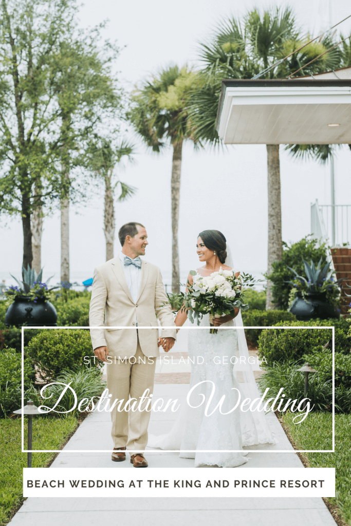 St. Simons Island Destination Wedding