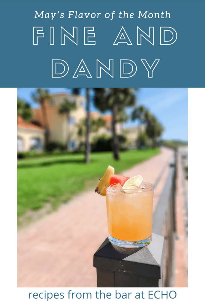 Fine and Dandy Watermelon Cocktail